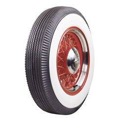 "Tire (650x16). Firestone, Bias Ply, 3-1/4"" White Wall Photo Main"