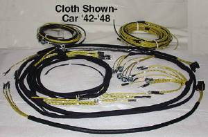 wiring harness, main (cloth covered wire like original) 1951 Chevy Styleline Deluxe Wiring 1950 chevrolet styleline deluxe stock