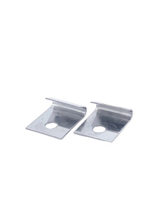 Door Panel Metal Frame Joint Clips , Polished Stainless Photo Main