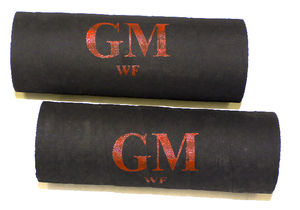 "Radiator Hoses, Lower (2 Pieces) With ""GM"" Script Photo Main"