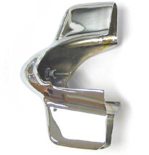 Grille Tooth -Chrome, Left Photo Main