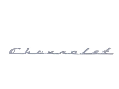 "Script On Trunk Lid ""Chevrolet""  Photo Main"