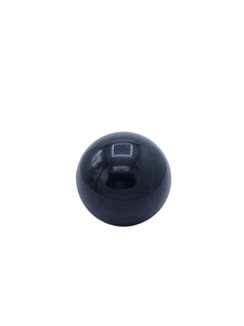 Shift Knob, 4-Speed Floor Shift, Screw On. Black Photo Main