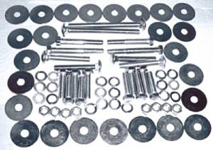Body Bolt Kit - Body To Frame (Except Convertible) Photo Main