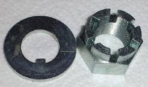 Spindle Nut & Washer -Fits 1-1/2Ton, 2Ton And 46-57 3/4Ton Photo Main