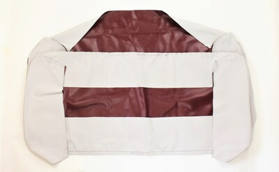 Seat Cover. 1947-49 Choose Color Black, Brown, Maroon Or Spanish Grain Photo Main