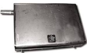 Gas Tank -Stainless Steel (Except 3-Passenger Coupe) Photo Main
