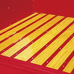 Bed Wood - Yellow Pine. 1/2ton With Mounting Holes (6 Boards) Photo Main