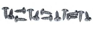 Screws -Stainless Steel For Aluminum & Rubber Sill Plates. Does 2 Doors Photo Main