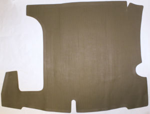 Trunk Mat - Sedan & Aerosedan, Taupe Photo Main