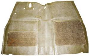 Floor Mat (Front) -Taupe Color With Carpet Photo Main
