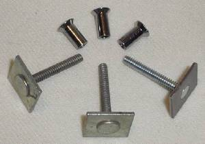 Windshield Center Divider Moulding -Nuts & Bolts Photo Main