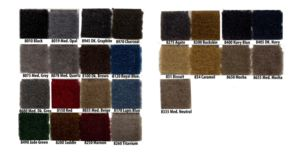 Carpet Kit -Front & Back, Loop. Includes Padding -1941-54  Photo Main