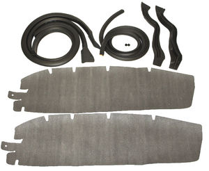 Weatherstrip, Door -Front , Hardtop & Convertible With 4589811 Photo Main