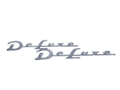 "Fender Script ""Deluxe"" Rear  (Superior Quality) Photo Main"