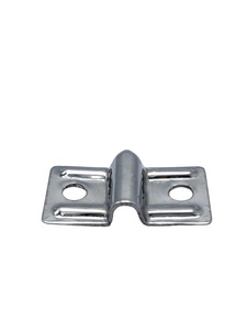 Hood Hinge Bracket -Rear  Hold Down, Stainless Photo Main