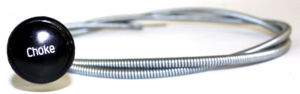 Choke Cable Assembly With Knob Photo Main