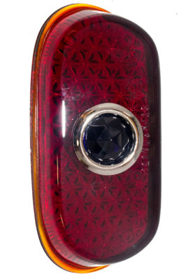 Lens - Blue Dot For Reproduction Tail Light Housing (Glass) Photo Main