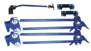 Suspension, Rear -Parallel 4-Link, Weld-On Kit. Light Weight Vehicles (Under 4000lbs) Photo Main