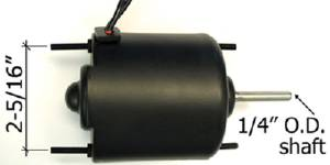 Heater Motor - 6-Volt Photo Main