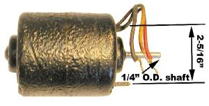 Heater Motor (Except Airflow) NOS Photo Main