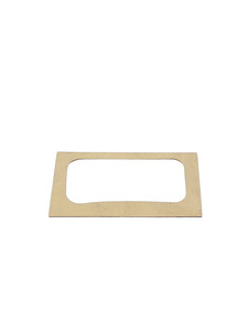 License Light Lens Gasket- Sedan Delivery Photo Main