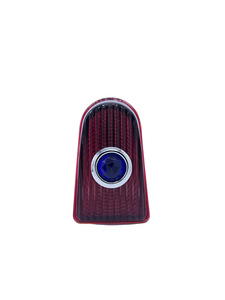 Lens - Tail Light Glass With Blue Dot. Original In '50 Photo Main