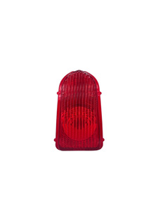 Lens - Tail Light, Red Plastic Photo Main