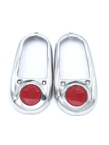 Rim - Tail Light With Reflector (Except Sedan Delivery), Stainless Steel Photo Main