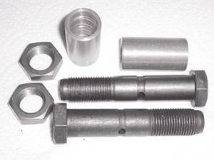 Bolt & Bushing - Fixed End Front Springs For 1/2ton & 3/4ton, 2-Piece Photo Main