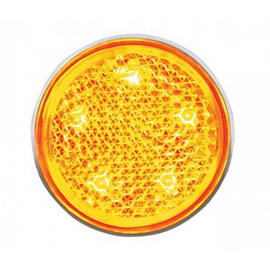 Led Reflector Below Tail Light Amber 12 Volt Photo Main