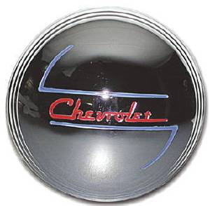 Hub Cap, 1937-38 Stainless Photo Main