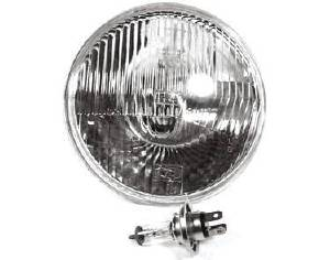 "Headlight -Clear Halogen Sealed Beam Replacement 12v 7"" Photo Main"