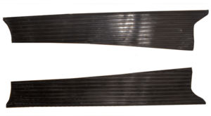 Chevy Parts 187 Running Board Mat Rubber Only For Smooth