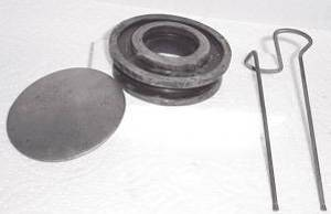 Horn Button Assembly (Cap, S-Wire, Rubber Button) Photo Main