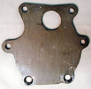 Water Pump, Backing Plate Photo Main