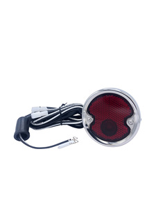 Tail Light Assembly. Black With Boot & Pigtail Photo Main