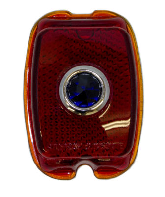 Lens - Tail Light (Glass With Blue Dot) Photo Main