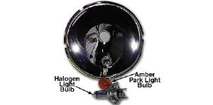Headlight, Reflector -12v Halogen Amber Park Light Photo Main