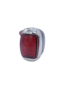 Led Tail Light Assembly - Left Side, Black Housing With Led License Light 12 Volt Photo Main