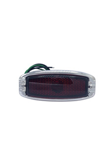 Tail Light Assembly - Glass Lens. Right Side, (Except Fleetline 4-Door) Photo Main
