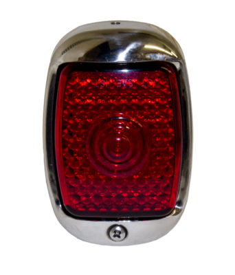 Led Tail Light Assembly. Right Side With Stainless Housing 12 Volt Photo Main