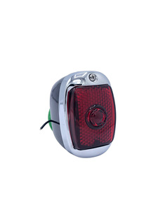 Tail Light With Plastic Lens. Right Side Photo Main