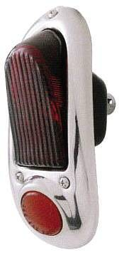 Tail Light Assembly - Stainless Steel. All (Except Sedan Delivery And Wagon) Photo Main