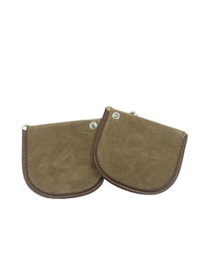 Sunvisor, Center Interior -Accessory. Light Brown With Darker Piping Photo Main
