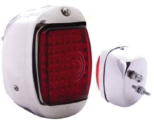 Tail Light LED Assembly -Right Side, Stainless Housing 12 Volt Photo Main