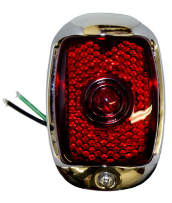 Tail Light Assembly - Right Side, Plastic Lens, Black Housing Photo Main