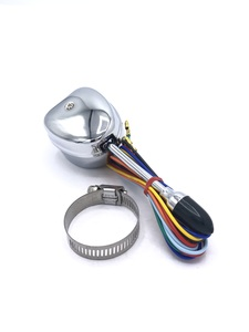 Turn Signal Switch -(Economy) Chrome Handle With Dark Green Tip And Indicator Lamp Photo Main