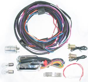 Turn Signal Kit -12v Halogen With Harness 37-53  Photo Main
