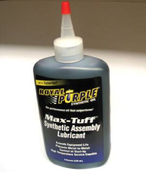 Engine Assembly Lube - Royal Purple - 8 Oz. Bottle Photo Main